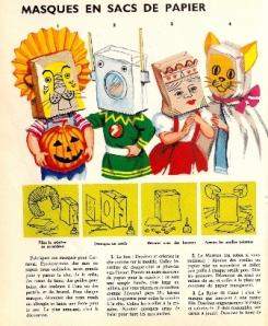 Masques en sac de papier - Mode d'emploi