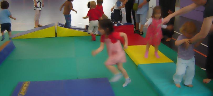 Parcours bébé gym
