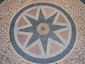 Mosaïque galerie Vivienne