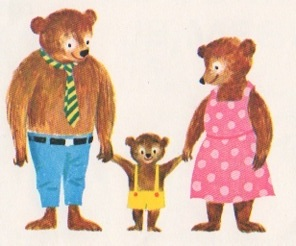 Famille d'ours