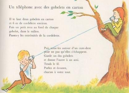 Gobelets telephone