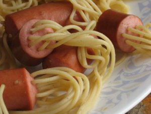 Spaghetti knacki 2