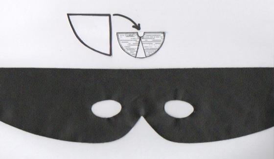 Cape et masque de Zorro