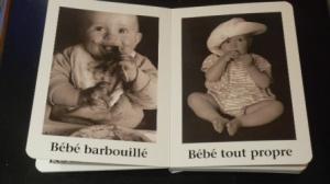 Livre tout carton « Beaucoup de beaux bébés » de David Ellwand à l'Ecole des loisirs