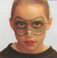 Résultat maquillage masque