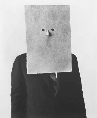 Saul Steinberg par Irving Penn