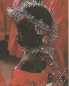 Maquillage enfant sénégalais