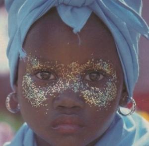 Maquillage enfant brésilien