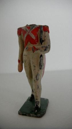 Soldat sans tête