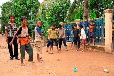 Jeu chaussures Cambodge