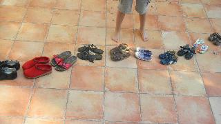 Jeu chaussures