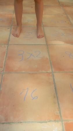 Jeu multiplications