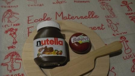 Babybel et Nutella