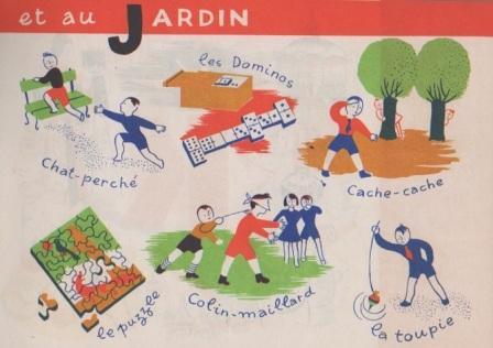 Jeux au jardin