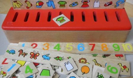 Boite à tri Montessori