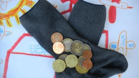 chaussettes pièces