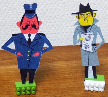 figurine policier