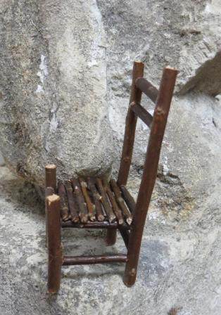 chaise bonhommes
