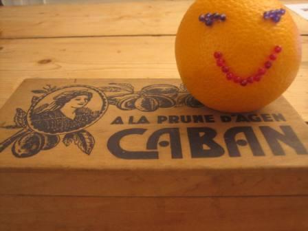 décor orange
