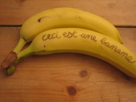 tatouage banane