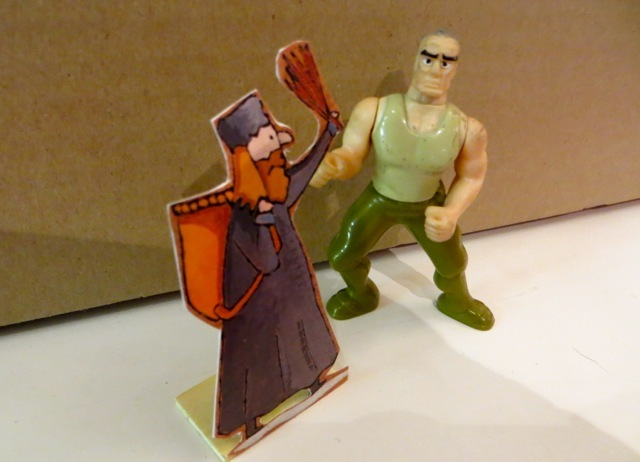 figurines pere noel