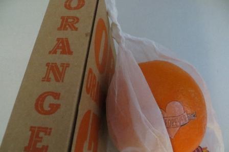 orange de noel