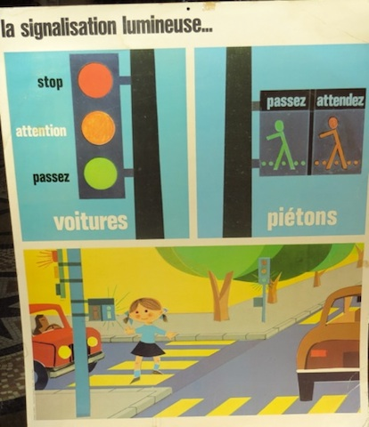 affiche prevention routiere