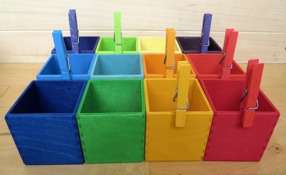 boîtes de tri
