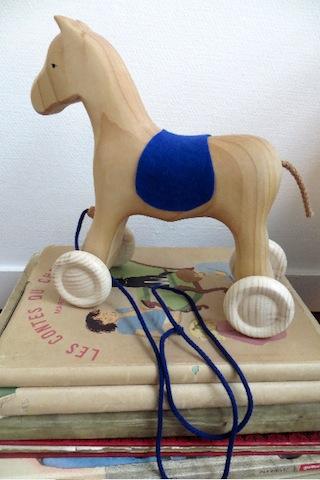 cheval bois Grimm's