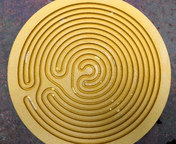 labyrinthe à gouttes