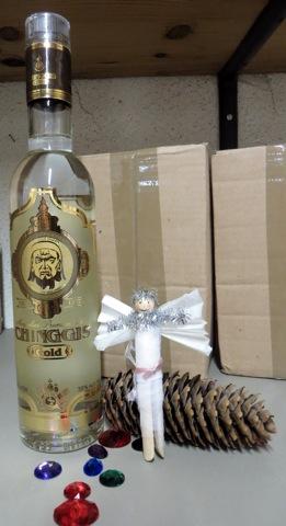 ange et bouteille