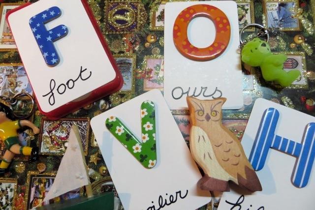 cartes lettres