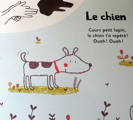 chien ombre chinoise