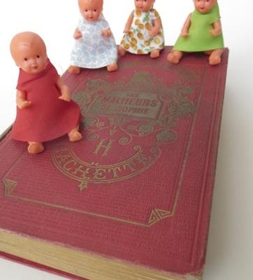 poupées livre