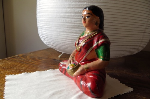 statue yoga