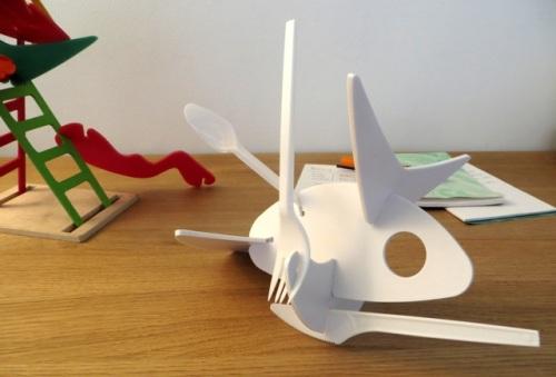 sculpture récup