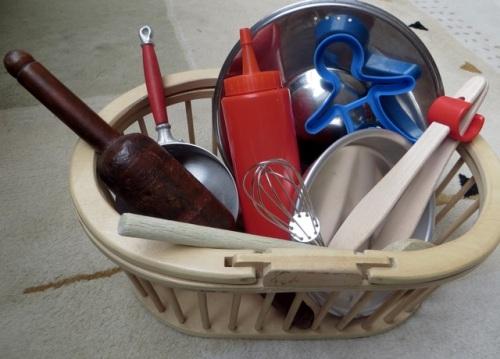 Treasure basket cuisine