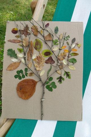 arbre feuilles