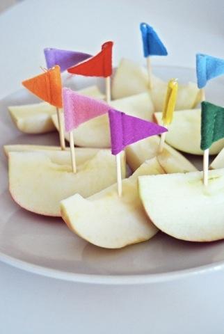 pomme bateau