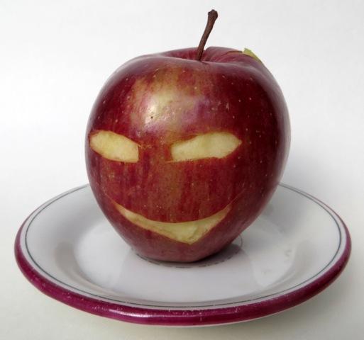 pomme visage