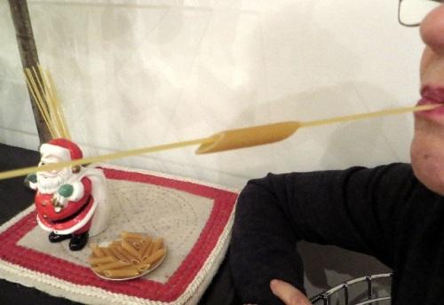 jeu avec pâtes