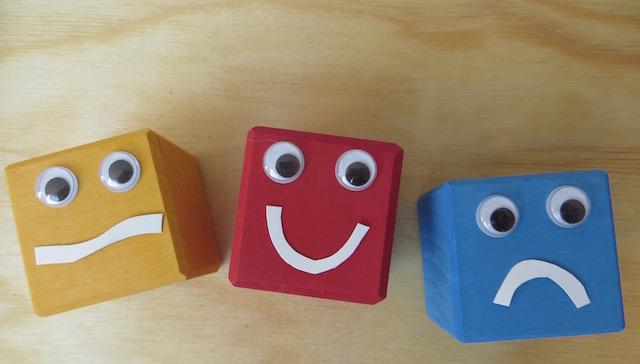 cubes émotions