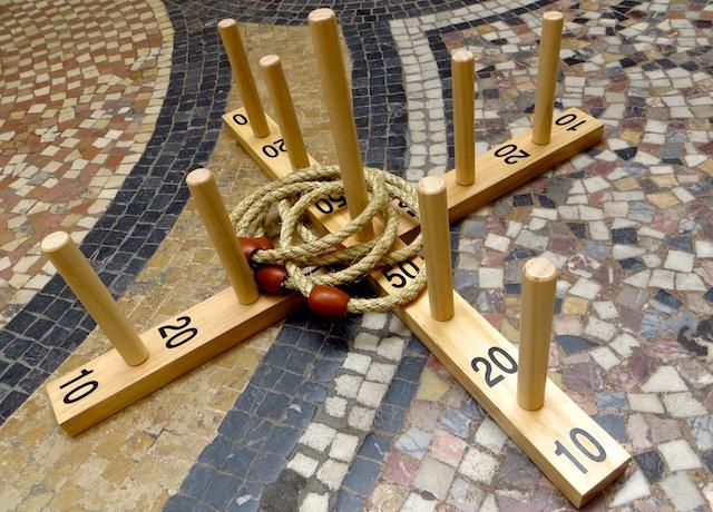 jeu anneaux bois