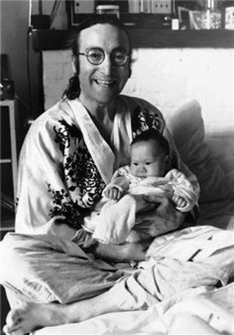 John et Sean Lennon 1975