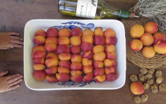 abricots mains