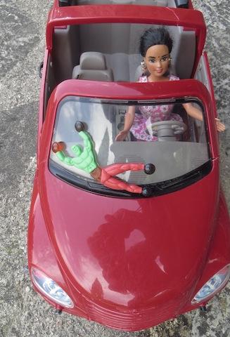 acrobate voiture