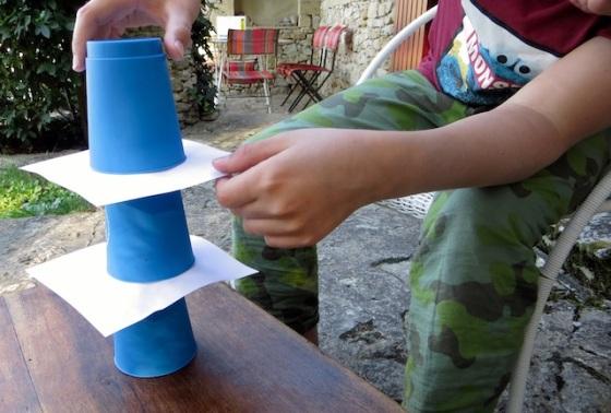 cups empilés