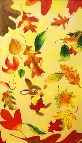 feuilles lapin