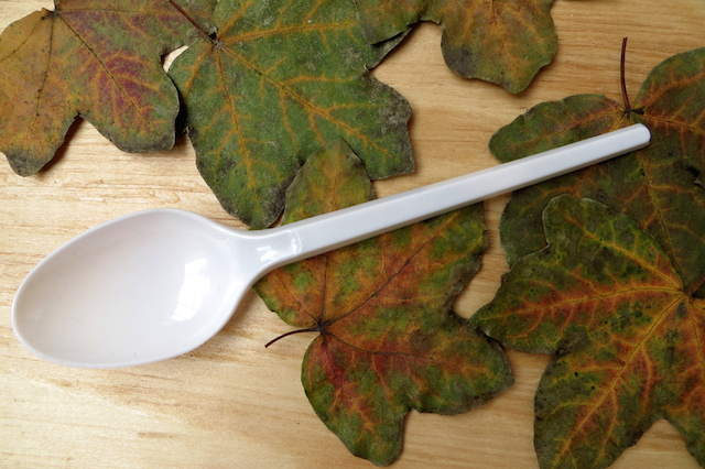 feuilles cuillère
