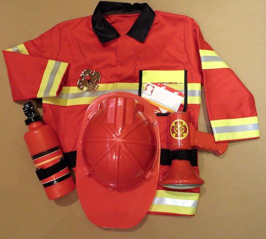 panoplie pompier